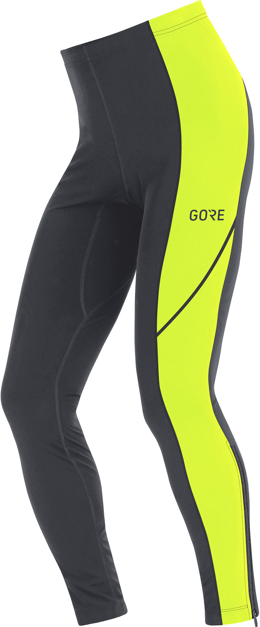 a42e46ef097340 GORE WEAR R3 Running Pants Men yellow/black at Addnature.co.uk